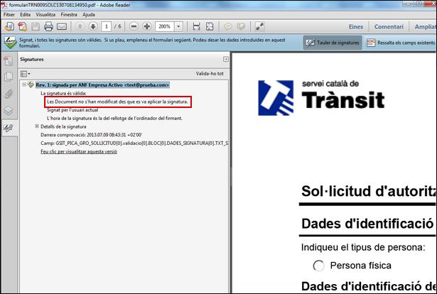 No modificacions del PDF